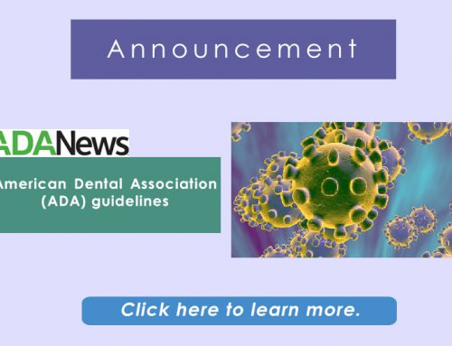 American Dental Association Guidelines 2020