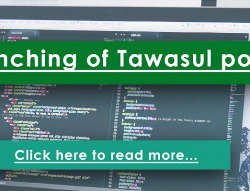 Launching of Tawasul portal