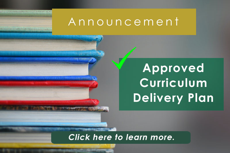 APPROVED CURRICULUM DELIVERY PLAN FOR AY 2020-2021